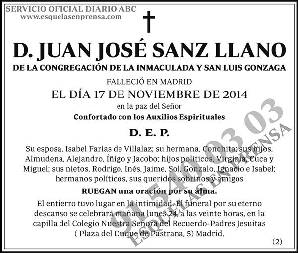 Juan José Sanz Llano
